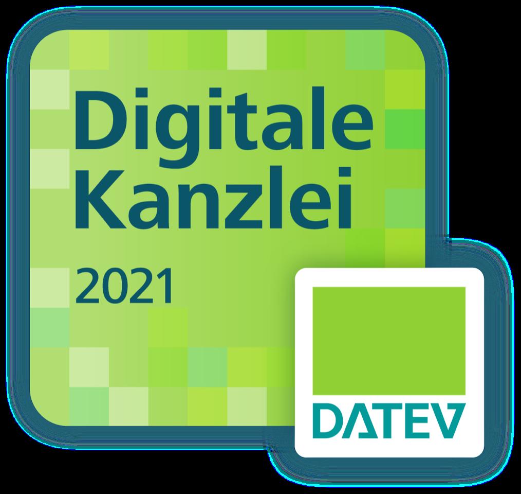 Auszeichnung: Digitale Kanzlei 2021 DATEV