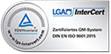 Auszeichnung: LGA InterCert TÜV Rheinland